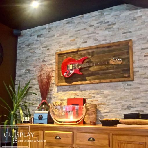 GUISPLAY Palette 4 Support guitar wall hanger display stand and Wall Art creations5(watermarked)