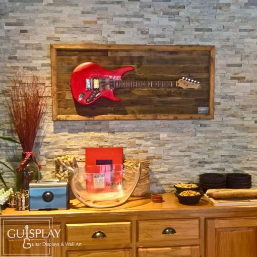 GUISPLAY Palette 4 Support guitar wall hanger display stand and Wall Art creations7(watermarked)