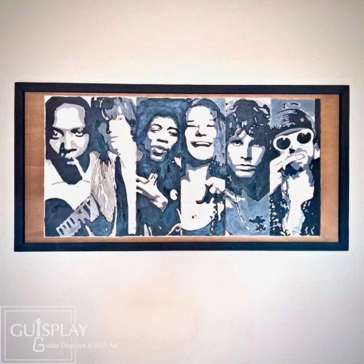 Club 27 Hendrix Morrison Janis Wall art 9(watermarked)