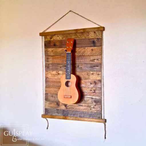 Guisplay Palette Rope Ukulele Display Wall Hanger1